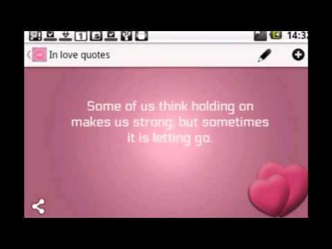 In Love Quotes -  Frenys Android App