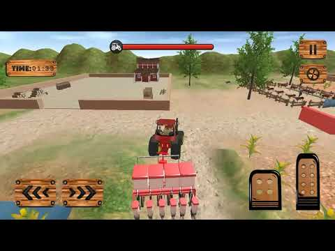 Tractor Pull & Farming Duty Game 2019 #3 - Android Games