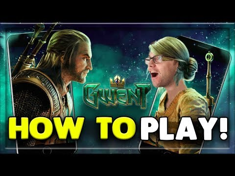 HOW TO PLAY GWENT ON MOBILE! THE WITCHER CARD GAME
