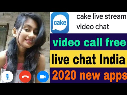 How To cake 2021 Indian girl Video call Live Video chat From My Android Smartphone