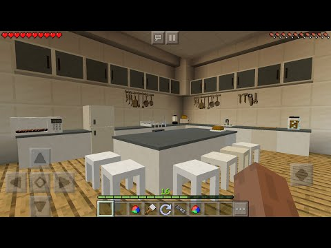 REAL LIFE FURNITURE MOD in Minecraft PE