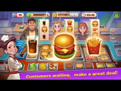 Super Chef - Cooking Mania Android Gameplay