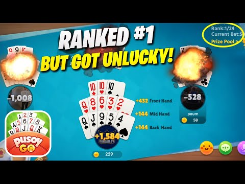 Pusoy Go: Almost WON the Tournament (Android) Gameplay Ep.1