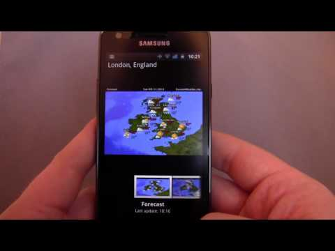 Palmary Weather Android App Review