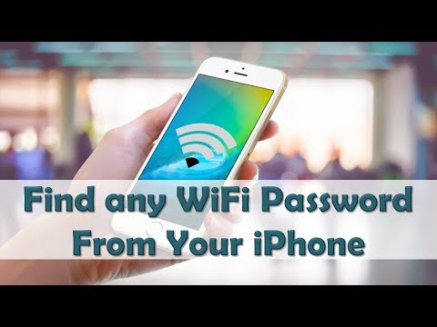 How to Find Any WiFi Passwords on iPhone Without Jail Break Also Scan Apple ID