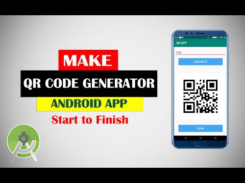 Make Android QR Code Generator App From Scratch  | Android Studio Projects Tutorial For Beginners