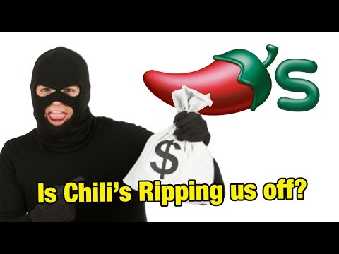 Is Chili's Ripping Us Off? - PLAYING WITH YOUR FOOD