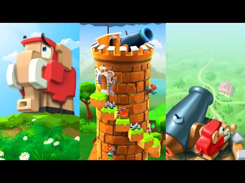 Blocky castle - Android gameplay
