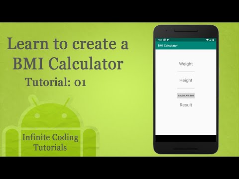 Android Studio Tutorial #1 | BMI Calculator (Source Code)