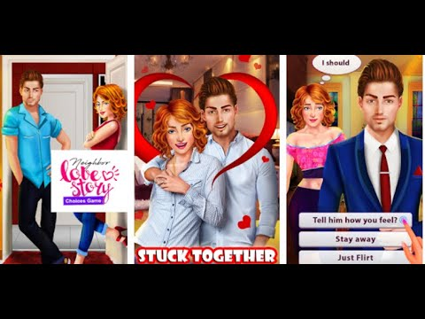 Love Story Games - Neighbor Interactive Story - Android gameplay Movie apps  Video Game Teenagers