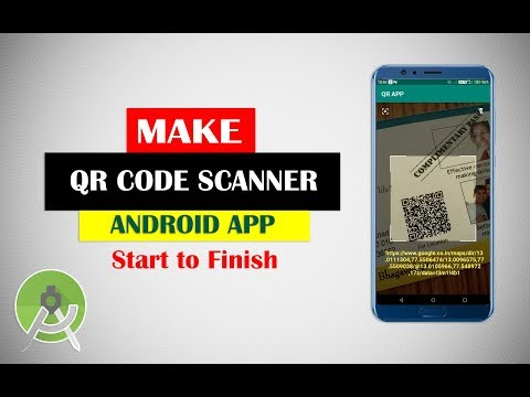 Make Android QR Code Scanner App From Scratch  | Android Studio Projects Tutorial For Beginners
