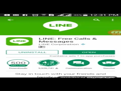 Line free calls & messages for android Urdu, Hindi Tutorial 2017