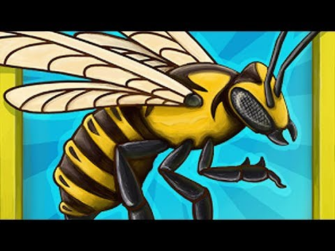 Angry Bee Evolution - Clicker Game - Android Gameplay