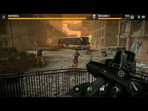 Zombie Comando Shooting:Offline Fps Military-Games Android Gameplay