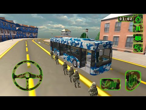 Army Bus Driver – US Military Coach Simulator 3D   Android Gameplay