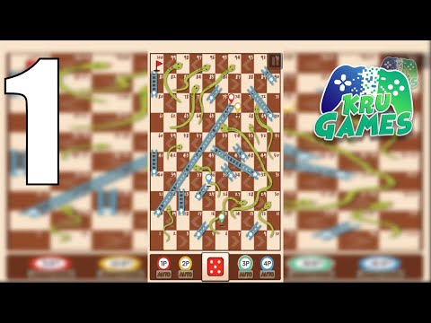 Snakes & Ladders King Gameplay Walkthrough #1 (Android, IOS)