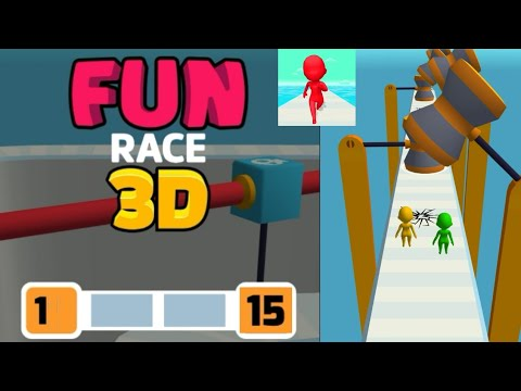 FUN RACE 3D GAMEPLAY LEVEL 1 -15 ANDROID & IOS DOWNLOAD FREE GRÁTIS