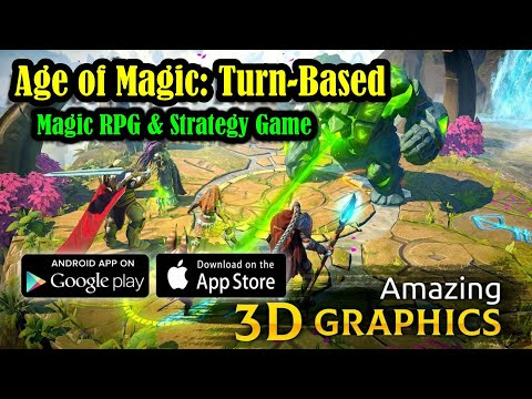 Age of Magic: Turn-Based Magic RPG & Strategy Game Gameplay (Android/IOS)