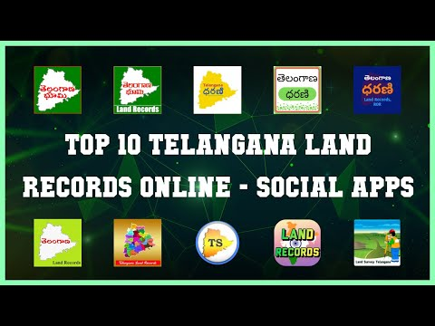 Top 10 Telangana Land Records Online Android App