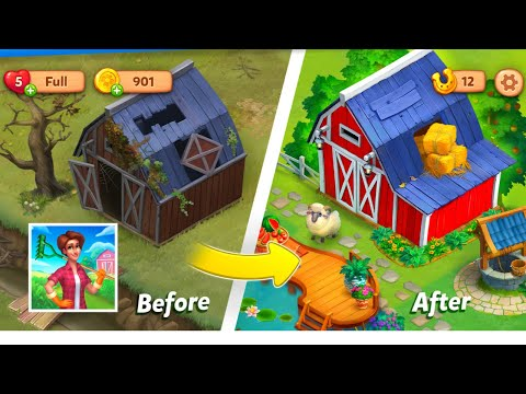 Farmscapes | GamePlay | Android & IOS