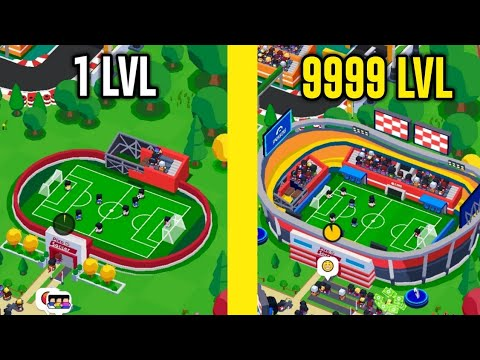 Idle Sports City Tycoon! MAX LEVEL SPORT CITY EVOLUTION! Gameplay Android
