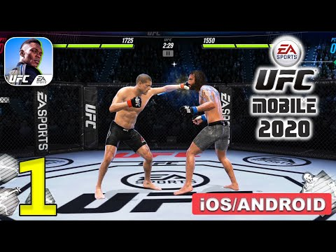 UFC MOBILE 2 BETA Gameplay (Android,iOS) - Part 1