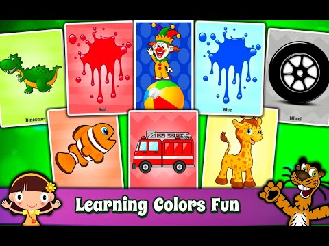 Kids Colors & Shapes Learning, Flashcards for Kids and Babies : Android App for toddlers