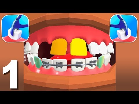 Dentist Bling (by Crazy Labs) Gameplay Walkthrough 1-20 Levels (Android)