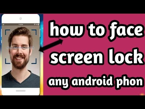 How to face lock any android mobile