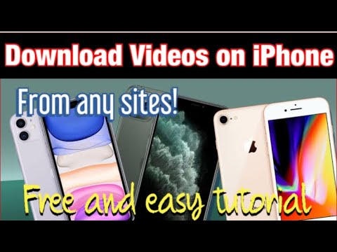 DOWNLOAD VIDEOS ON IPHONE | Download videos on iPhone from anywhere |