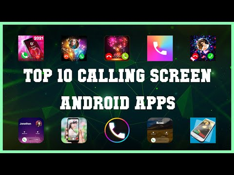 Top 10 Calling Screen Android App   Review