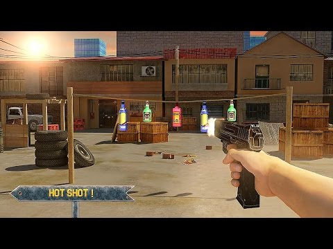 Bottle Shoot 3D Game Expert - Android Gameplay
