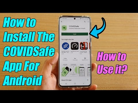 How to Install the COVIDSafe App For Android