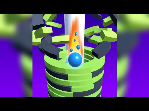 Drop Stack Ball - Fall Helix Blast Crash 3D- Walkthrough Gameplay Part 1 (ios&Android)