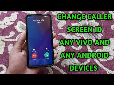 Change caller screen id any vivo and any android devices [HINDI]