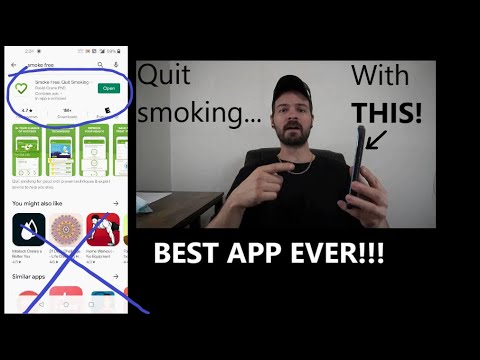 The Only Quit Smoking APP YOU NEED! How to track and control cravings, save money, cigarettes...