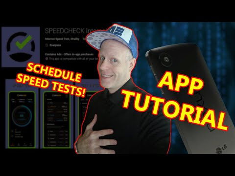 HOW TO TEST YOUR CELL DATA SPEED & WIFI SPEED! Ping, Download, Upload! with Speed Check App Android