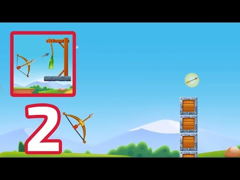 Archery Bottle Shoot - Gameplay Part 2 (Android,IOS)