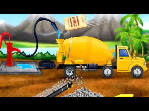 City Construction Vehicles - House Building Game