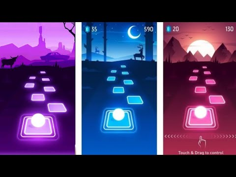 Casual but cool game - Tiles Hop : EDM Rush Gameplay (Android gameplay by Rycalz)
