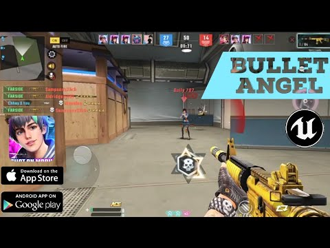 Bullet Angel: Xshot Mission M Official (android/IOS) Gameplay