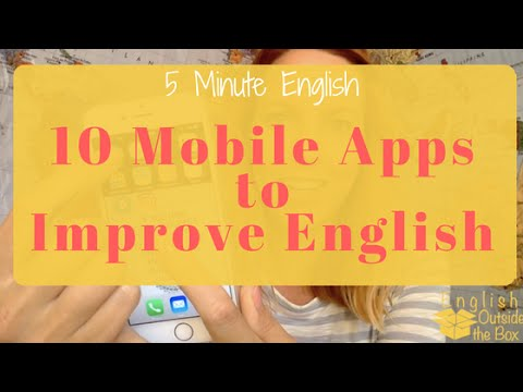 5 Minute English | 10 Mobile Apps to Improve English [2 Part Lesson]
