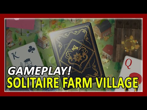 Solitaire Farm Village Gameplay Walkthrough | First 30 Minutes In-Game Experience