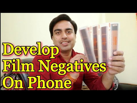 How to Develop Film Negatives on your phone by Filmbox | Old Negatives turn into pictures
