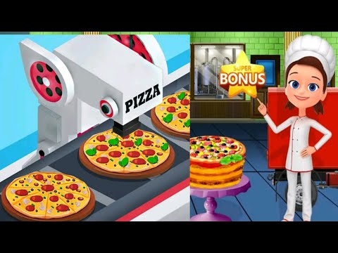 cake pizza factory ||cake pizza factory tycoon cooking game || girl games