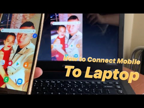 HOW TO CONNECT MOBILE TO LAPTOP (ANDROID AND IPHONE )