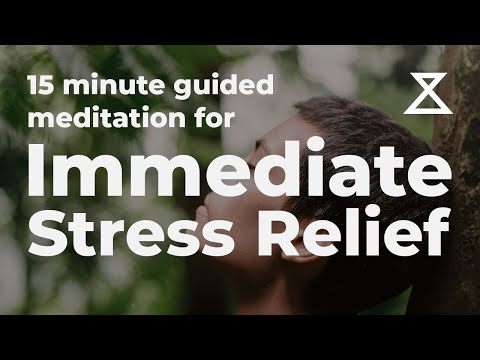 Relieve Immediate Stress With Breathing - 15 Minute Guided Meditation