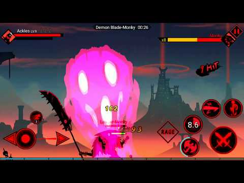 [Android] League of Stickman 2 Online Fighting RPG - DreamSky