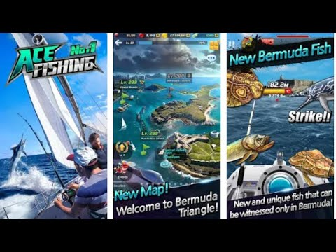 Ace Fishing: Wild Catch - Android gameplay Com2uS USA  Movie apps free best Top Tv Film Games