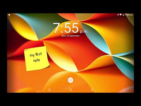 Another Note Widget: Placing multiple notes on Home screen